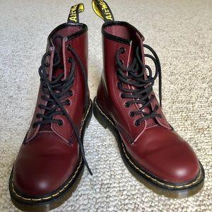The original Dr. Martens 1640 8-eye boots